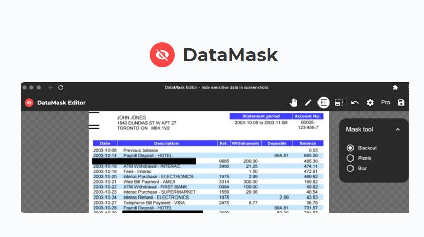 datamask lifetime deal